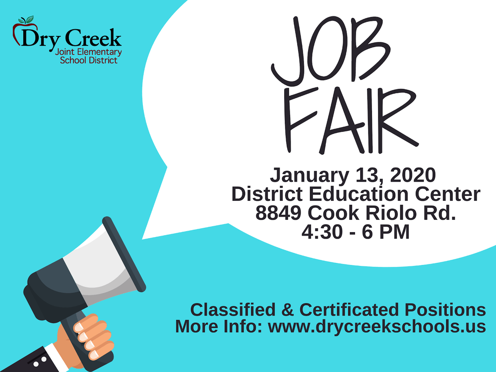 Job Fair Flyer Information