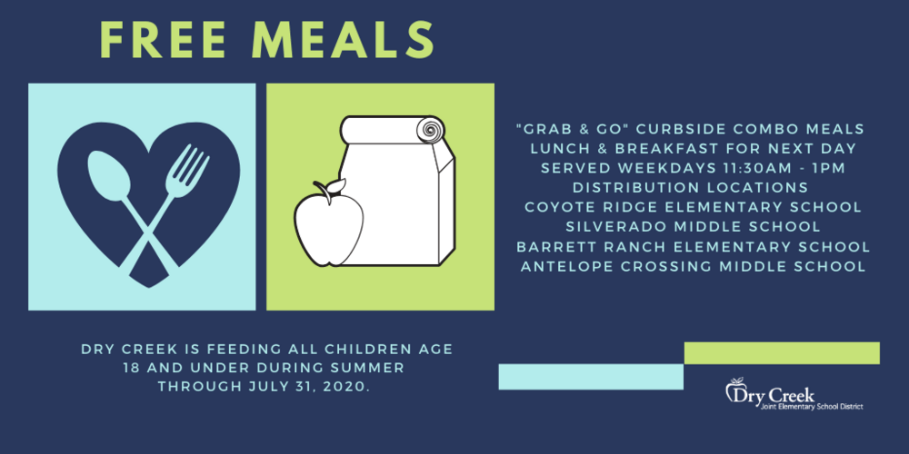 Free meals to students